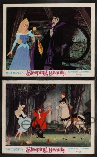 2w680 SLEEPING BEAUTY 4 LCs R70 Walt Disney cartoon fairy tale fantasy classic!
