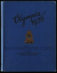 2x001 OLYMPIA 1936 set of 2 German hardcover books '36 most incredible visual & written history!
