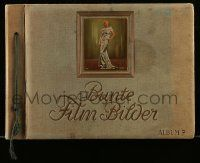 2x010 BUNTE FILM BILDER German 9x13 cigarette card album '35 with 275 color images of top stars!