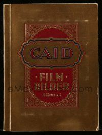 2x011 CAID FILMBILDER German 9x12 cigarette card album '33 contains 360 cards on 36 pages!