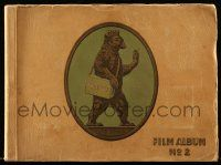 2x018 JOSETTI FILM ALBUM No 2 German 9x12 cigarette card album '30s contains 272 cards on 45 pages!