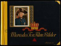 2x021 MERCEDES TONFILMBILDER No 6 German 9x12 cigarette card album '30s with 167 cards on 36 pages!
