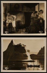 2x031 S.O.S. EISBERG set of 4 German LCs '33 Leni Riefenstahl with explorers, cool iceberg images!