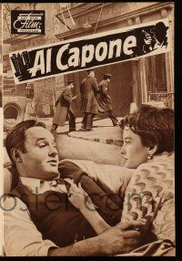 2x048 AL CAPONE German program '59 different images of Rod Steiger as the most notorious gangster!