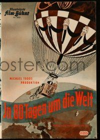 2x052 AROUND THE WORLD IN 80 DAYS German program '57 great different images of all-stars!