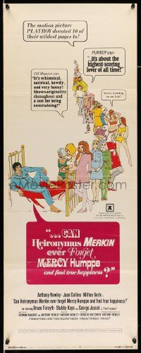 2y058 CAN HEIRONYMUS MERKIN EVER FORGET MERCY HUMPPE & FIND TRUE HAPPINESS insert '69 Playboy!