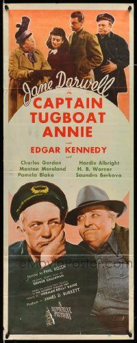 2y064 CAPTAIN TUGBOAT ANNIE insert '45 great images of Jane Darwell & Edgar Kennedy plus cast!