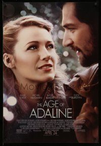 2z014 AGE OF ADALINE advance DS 1sh '15 gorgeous Blake Lively in the title role, Michiel Huisman!