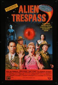 2z023 ALIEN TRESPASS DS 1sh '09 creeping, crawling nightmare of terror, can mankind be saved!