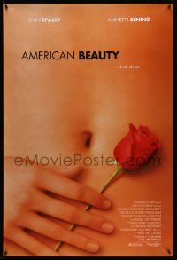 2z039 AMERICAN BEAUTY 1sh '99 Sam Mendes Academy Award winner, sexy close up image!