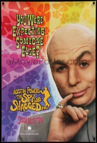 2z060 AUSTIN POWERS: THE SPY WHO SHAGGED ME teaser 1sh '97 Mike Myers as Dr. Evil!