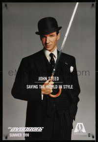2z063 AVENGERS teaser 1sh '98 Ralph Fiennes as John Steed - saving the world in style!