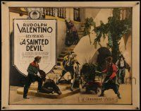 3d232 SAINTED DEVIL 1/2sh '24 Argentinean nobleman Rudolph Valentino has his bride kidnapped, rare!