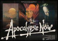 3g027 APOCALYPSE NOW German 2p '79 Francis Ford Coppola, contains all Bob Peak artwork images!