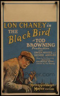 3g038 BLACKBIRD WC '26 art of thief/mission owner Lon Chaney, written & directed by Tod Browning!