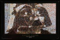 3h264 DARTH VADER 24x36 commercial poster '97 cool photomosaic image by Robert Silvers