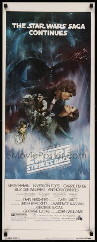 3h116 EMPIRE STRIKES BACK int'l insert '80 George Lucas, Gone with the Wind art by Roger Kastel!