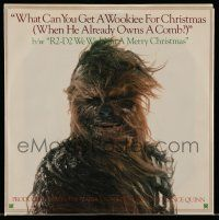 3h449 CHRISTMAS IN THE STARS 45 RPM record 1980 What Can You Get a Wookie for Christmas + R2-D2 song!