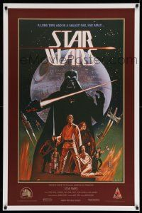 3h146 STAR WARS 1sh R08 George Lucas sci-fi, Ralph McQuarrie & Lawrence Noble, Celebration Japan!