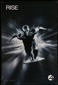 3r030 4: RISE OF THE SILVER SURFER style A teaser DS 1sh '07 Jessica Alba, Chiklis, Chris Evans!