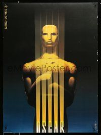 3r005 67th ANNUAL ACADEMY AWARDS DS 1sh '95 cool artwork of Oscar statuette by Saul Bass!