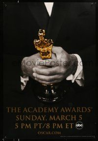 3r012 78th ANNUAL ACADEMY AWARDS heavy stock DS 1sh '05 Studio 318 design of man holding Oscar!
