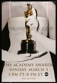 3r013 78th ANNUAL ACADEMY AWARDS heavy stock DS 1sh '05 Studio 318 design of woman holding Oscar!