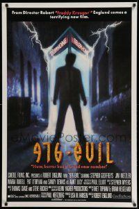 3r037 976-EVIL 1sh '88 directed by Robert Englund, horror has a brand new number, phone booth art!