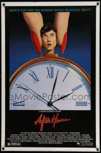 3r051 AFTER HOURS style B 1sh '85 Martin Scorsese, Rosanna Arquette, great art by Mattelson!