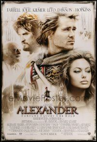 3r060 ALEXANDER advance DS 1sh '04 directed by Oliver Stone, Colin Farrell in title role!