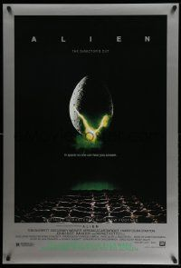 3r069 ALIEN style B DS 1sh R03 Ridley Scott outer space sci-fi monster classic, cool egg image!