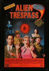 3r075 ALIEN TRESPASS DS 1sh '09 creeping, crawling nightmare of terror, can mankind be saved!