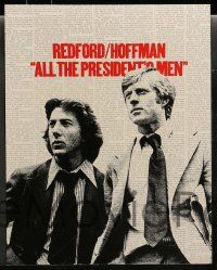 3t013 ALL THE PRESIDENT'S MEN 9 color 11x14 stills '76 Pakula Watergate classic, Robert Redford