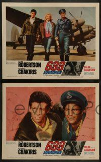 3t021 633 SQUADRON 8 LCs '64 Cliff Robertson, George Chakiris, The Winged Legend of World War II!