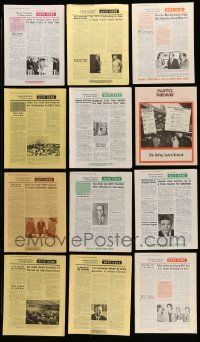 3w053 LOT OF 17 NATO NEWS EXHIBITOR MAGAZINES '73 filled with great images & information!
