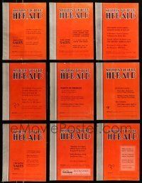 3w066 LOT OF 14 MOTION PICTURE HERALD 1950 EXHIBITOR MAGAZINES '50 great images & information!