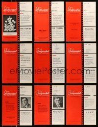 3w073 LOT OF 13 INDEPENDENT FILM JOURNAL EXHIBITOR MAGAZINES '76-78 great images & information!