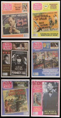 3w079 LOT OF 91 MOVIE COLLECTOR'S WORLD MAGAZINES '00s filled with cool movie poster images!