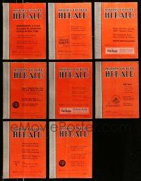 3w077 LOT OF 8 MOTION PICTURE HERALD 1949 EXHIBITOR MAGAZINES '49 great images & information!