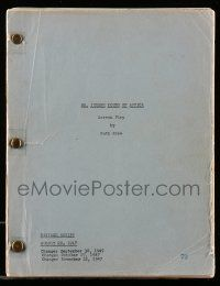 4g001 MIGHTY JOE YOUNG revised draft script August 20, 1947, Mr. Joseph Young of Africa!