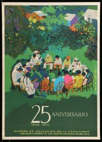 4j042 25 ANIVERSARIO Puerto Rican '74 25th anniversary of the Department of Public Instruction!