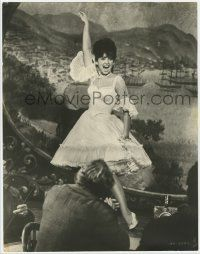 4s019 ADVENTURES OF BULLWHIP GRIFFIN deluxe 10.25x13 still '66 Pleshette singing & dancing on stage!