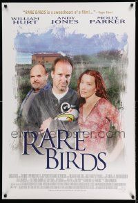 4t053 RARE BIRDS Canadian 1sh '01 William Hurt, Andy Jones, Molly Parker, directed by Gunnarson!