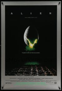 4w035 ALIEN style B DS 1sh R03 Ridley Scott outer space sci-fi monster classic, cool egg image!