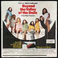 4y001 BEYOND THE VALLEY OF THE DOLLS int'l 6sh '70 Russ Meyer's sexy girls are old at twenty, rare!