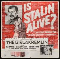 4y035 GIRL IN THE KREMLIN 6sh '57 Stalin's weird fetishism, the world's greatest conspiracy!