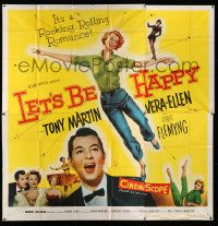 4y049 LET'S BE HAPPY 6sh '57 pretty Vera-Ellen & Tony Martin in a rocking and rolling romance!