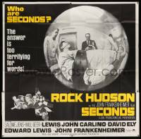 4y077 SECONDS 6sh '66 Rock Hudson buys a new life, John Frankenheimer, too terrifying for words!