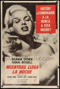 4y286 BLONDE SINNER Argentinean R60s c/u art of sexy bad girl Diana Dors, Yield to the Night!