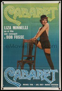 4y290 CABARET Argentinean R70s Liza Minnelli sings & dances in Nazi Germany, directed by Fosse!